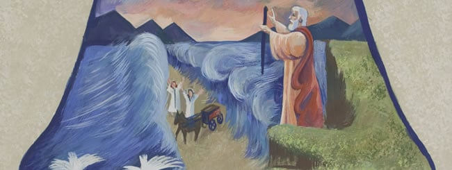Jewish Art for the Soul: The Parting of the Red Sea