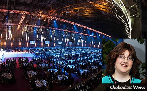 Esther Wilhelm of Chabad of Zhitomir, Ukraine, will serve as keynote speaker at the Sunday-night gala banquet. (Photo: Kinus.com)