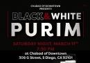 Black & White Purim