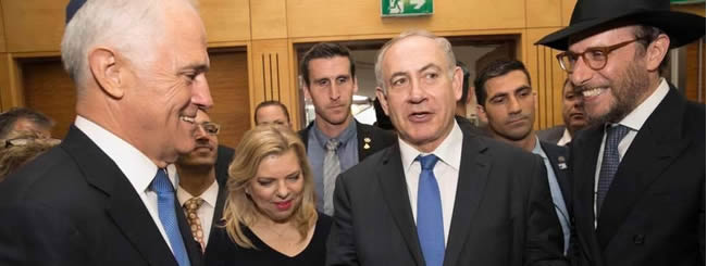 Australia & New Zealand: Netanyahu Shares Personal Inspiration From the Rebbe With Australia's PM