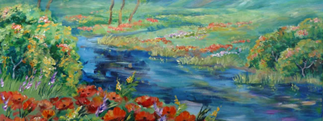 Jewish Art for the Soul: Mount Hermon & the Jordan River
