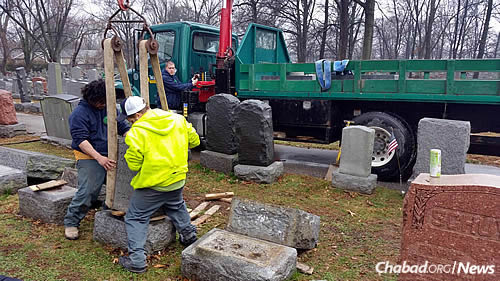 "The cemetery contains the resting places of some of the city's most revered leaders. ""What is important here is that we are coming together for constructive and positive purposes,"" says Rabbi Yosef Landa."
