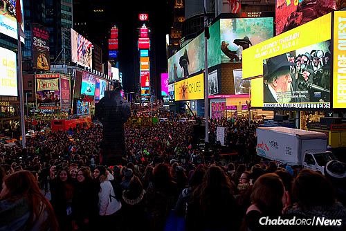 Times Square 2016 (Photo: Bentzi Sasson)