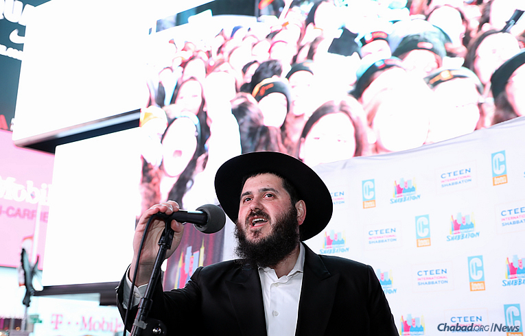 Rabbi Mendy Kotlarsky, executive director of Merkos 302 (Photo: Bentzi Sasson)