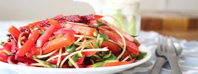 Salad: Kohlrabi Slaw