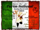 Purim Italiano! 2017