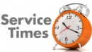 Shabbos & Weekday Service Times