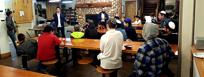 March 2017: The Rabbi of Idaho's At-Risk Teens