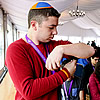 800 Wrap Tefillin, 70 for the First Time, at March of the Living
