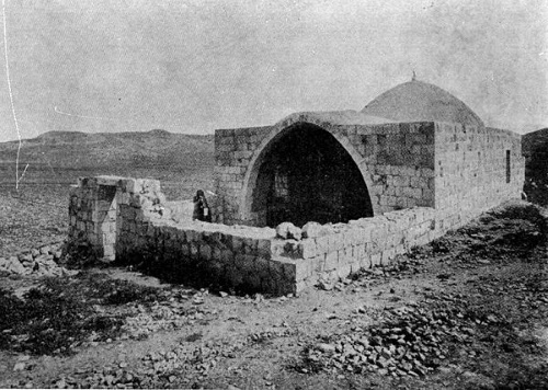 Joseph's Tomb as it appeared in the 19th century.