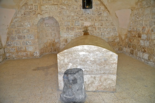 Joseph's Tomb in 2014 (credit: Meir Rotter).
