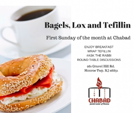 Bagels, Lox and Tefillin.jpg