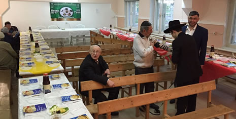 Preparing for the Seder in Izmail, Ukraine
