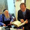 Rabbi Adin Even-Israel (Steinsaltz) Honored With Jerusalem Award