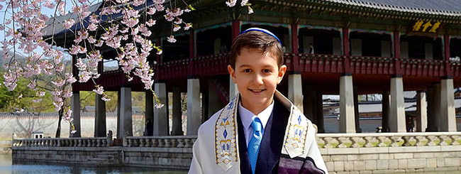 Jewish News: How a Jewish Boy in South Korea Celebrated His Bar Mitzvah