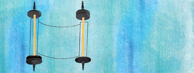 Questions & Answers: Why Two Rollers for a Torah and One for a Megillah?