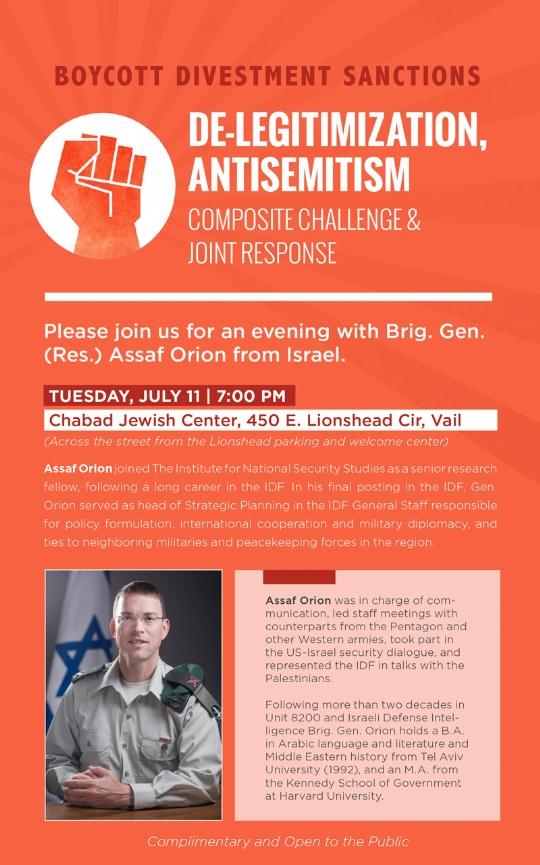 De-legitimization Antisemitism - Jewish Community Center