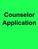 Counselor Application Form