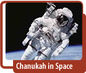 Hanukkah in Space video