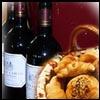 יין, לחם ומזון מבושל