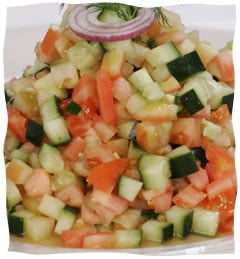 Scrumptious Israeli Salads - Recipes for Making Great Meals
