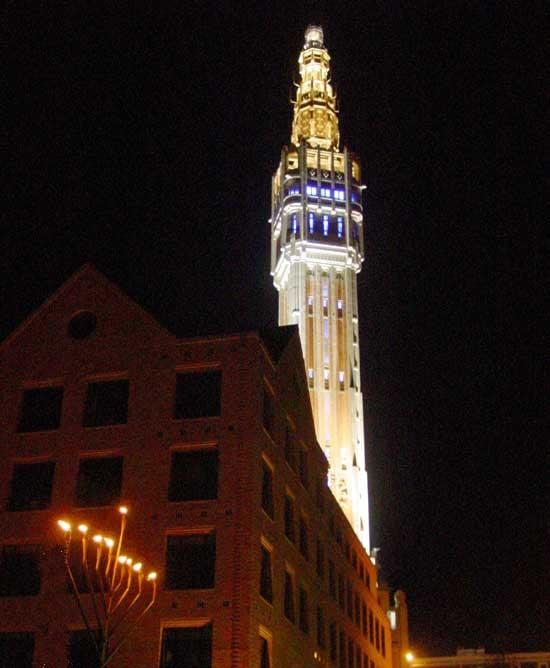 Lille France Public Menorahs Around The Globe Chanukah Hanukkah