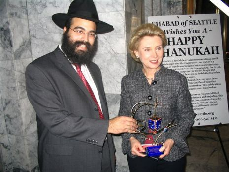 Shluchim of Washington State with Governor - Chanukah 5768 (4).jpg