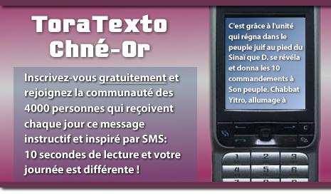 ToraTexto Chné-Or : faites passer le message !