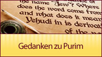 Gedanken zu Purim