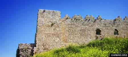 Antipatris Fortress in Israel