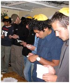 Pre-Shabbat prayers