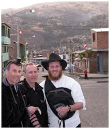 Tefillin in high in the sky