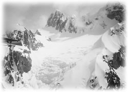 Atop Mount McKinley in the month of May