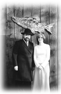 Rabbi Yossi and Esty Greenberg