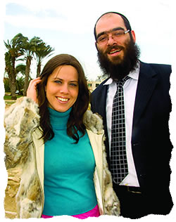 Zeev and Shainel Raskin, co-directors of Chabad in Cyprus