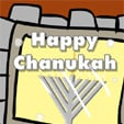 Menorah in Window