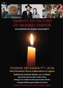 Tribute to Victims of Mumbai Terror