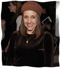 Robin Garbose at the premier of ''A Light For Greytowers''