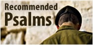 Recommended Psalms for times of distress
