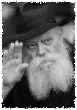 The Rebbe, Rabbi Menachem Mendel Schneerson, of righteous memory, on the morning he suffered a stroke. (Photo: Fridrich Vishinsky)