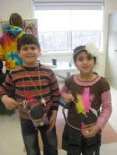 Hebrew School Purim Canvial
