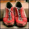 Les chaussures d'un défunt