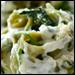 Creamy Spinach Fettuccini