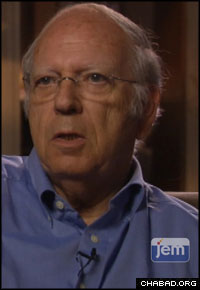 Efraim Halevy, a former director of Israel's national intelligence agency, makes an appearance on a new DVD soon to be released by Jewish Educational Media.