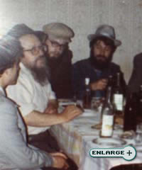 A Chabad emissary brings Judaism to a community at an underground Jewish gathering in communist Russia