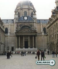 The Sorbonne in Paris, France