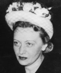 La Rabbanit 'Haya Mouchka Schneerson, de mémoire bénie, l'épouse du Rabbi