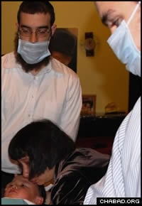 Vietnam Community Celebrates First Circumcision - Chabad-Lubavitch ...