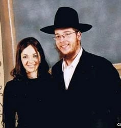 Rivkah and Gavriel Holtzberg