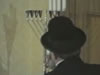 Menorah Lighting in the Rebbe's House